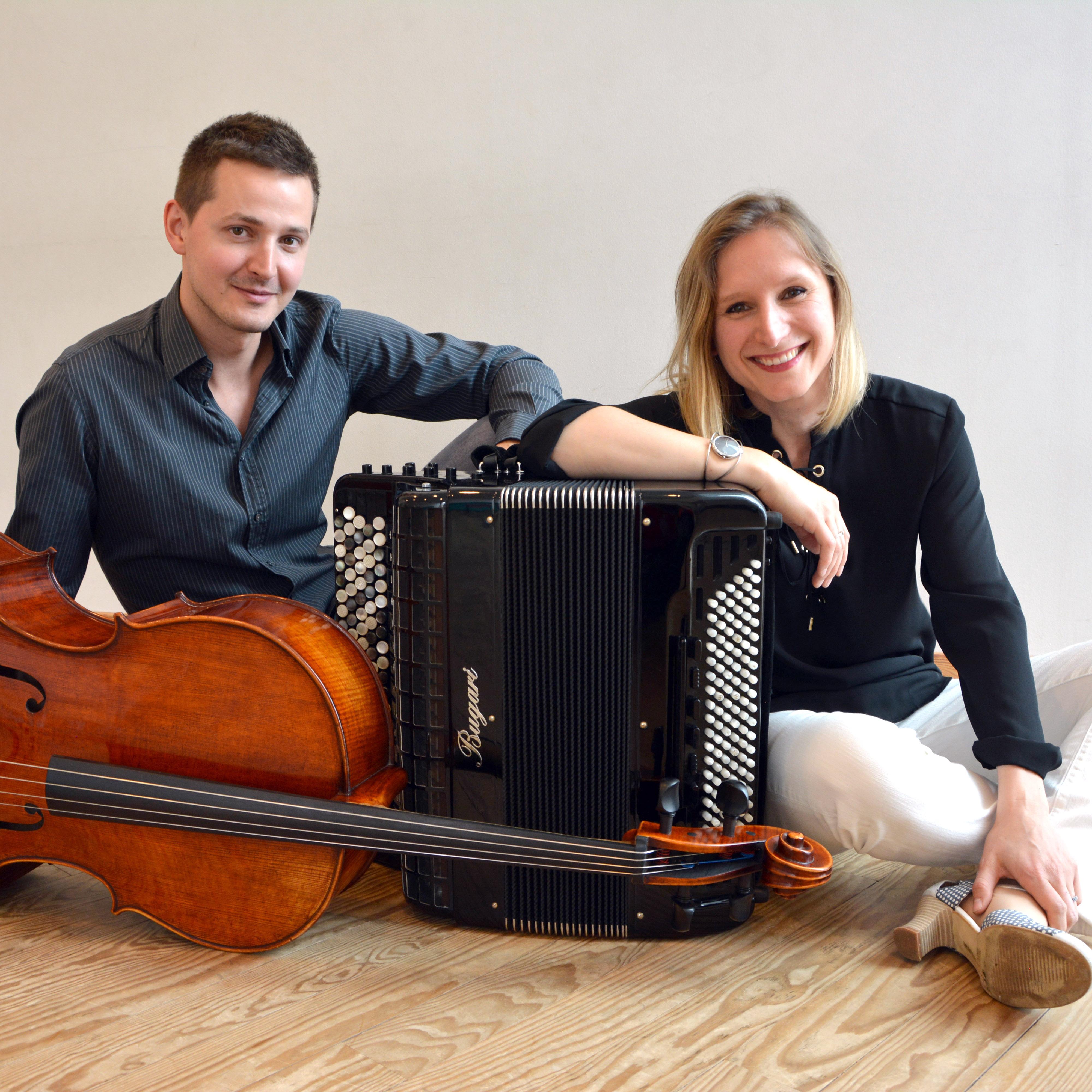 Marie-Andrée Joerger et Nicolas Hugon